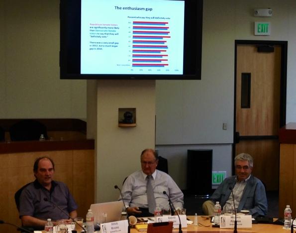 Hoover political scientists Doug Rivers, David Brady and Morris Fiorina